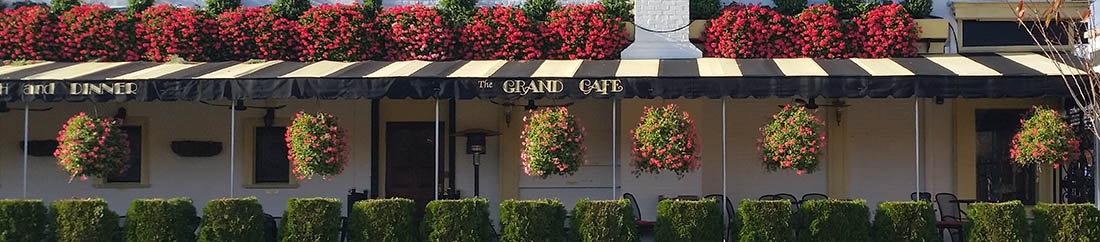 Outdoor Dining, Morristown, NJ, The Grand Cafe